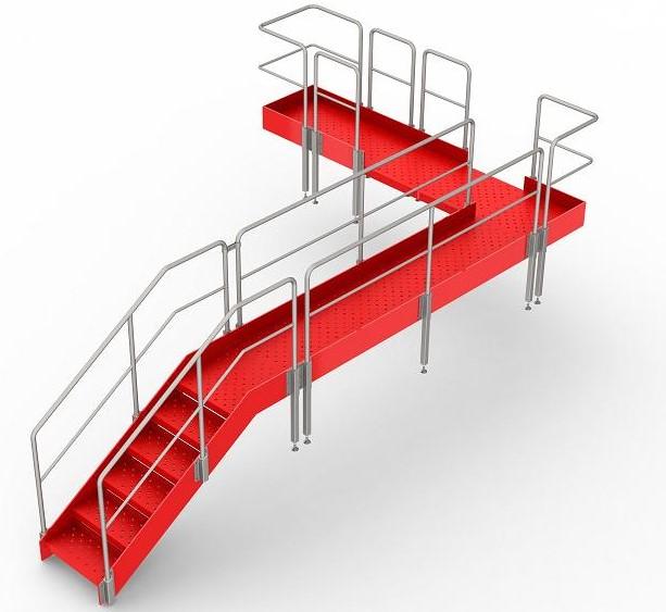Stainless Steel Permit Walks, Catwalks, Stairs  Auckland made